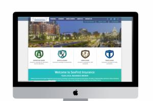 SeaFirst Insurance Drupal 8 Website Development