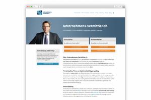 Front Page of unternehmens-vermittler.ch
