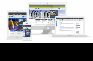 ACT-IAC website in various devices