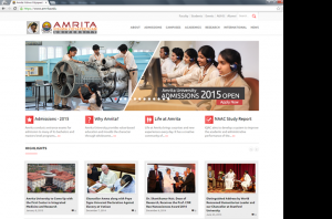 Amrita University Homepage