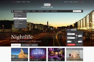 Basel Tourism Homepage