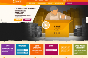 Care.org Homepage