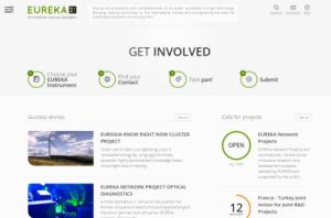 EUREKA homepage