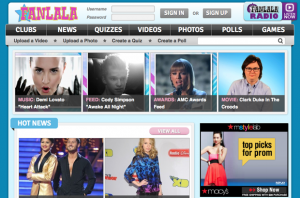 Fanlala.com Homepage