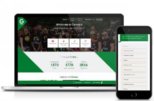 Genesis Housing Association website on desktop and mobile