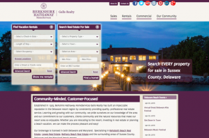 Berkshire Hathaway Gallo Realty Drupal website by Inclind screenshot