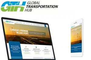 Global Transportation Hub Responsive Design