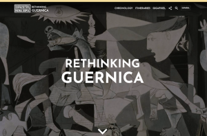 Rethinking Guernica Homepage