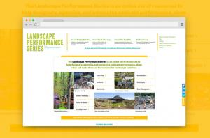 Landscape Performance Series Home page
