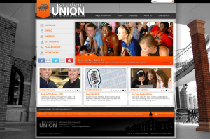 The OSU Student Union Homepage