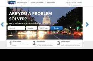 iLobby homepage