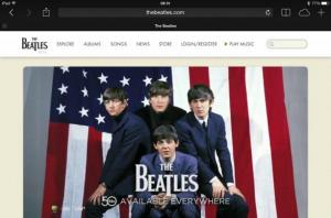 The Official Beatles Website - built with Drupal