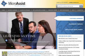 MicroAssist Website - Home Page