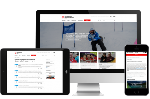 Special olympics canada site collage images