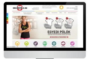 OnlinePolo.hu - T-shirt designer e-commerce