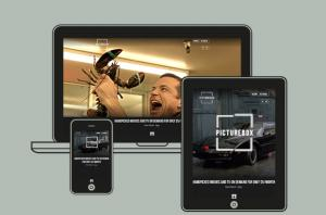 PictureBox films homepages on all devices
