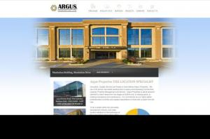 Homepage of Argus Properties