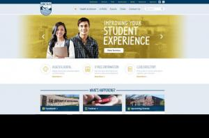 Homepage of UBC Students' Union Okanagan