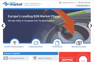 Expert Market Homepage