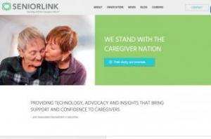 SeniorLink home page