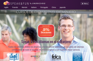 Speak and Fun - Cursos de Idiomas