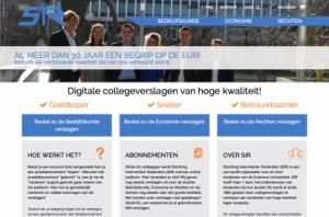homepage SIR study platform