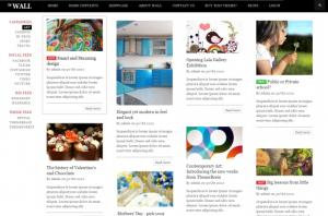 TB Wall - Premium Drupal theme with Pinterest design