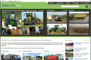TractorTube videos and news in agricultural engineering