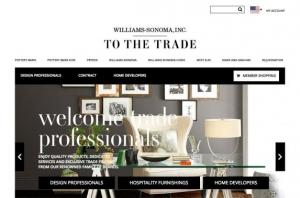 Williams-Sonoma To The Trade Portal