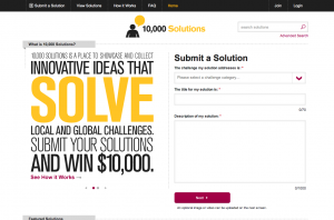 10,000 Solutions Homepage