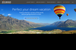 Zicasso.com - Luxury Travel Specialists Home Page