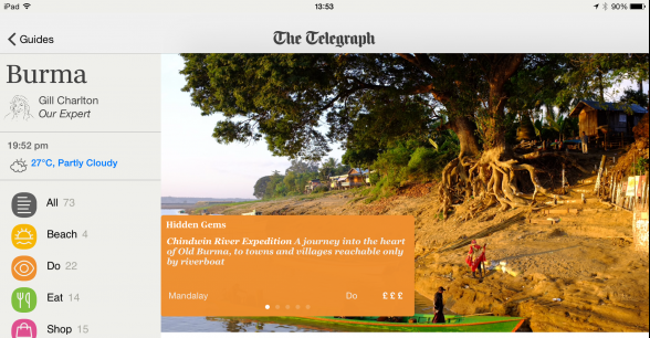 The Telegraph Travel Guides App