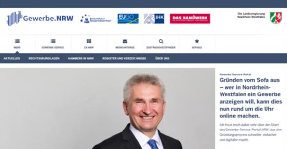 eGovernment Gewerbe-Service-Portal.NRW
