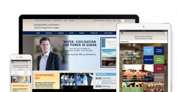 Georgetown University in Qatar (GU-Q) Website