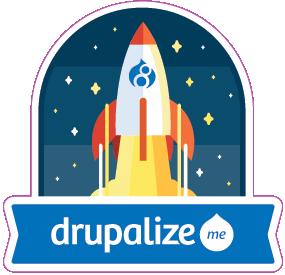 Drupalize.Me Drupal 8 rocket