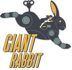 a giant robotic rabbit