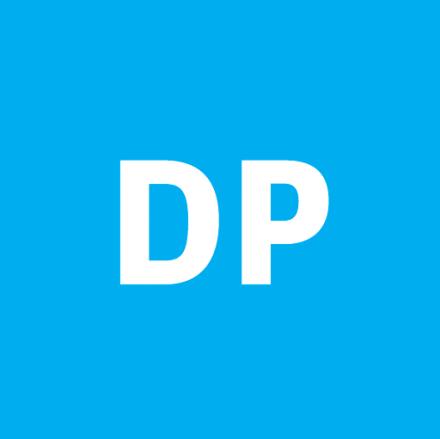 Digital Pulp icon in cyan.