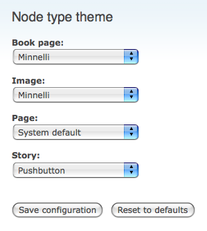 drupal theming node type