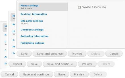 More node buttons | Drupal org