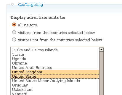 Ad GeoIP | Drupal org