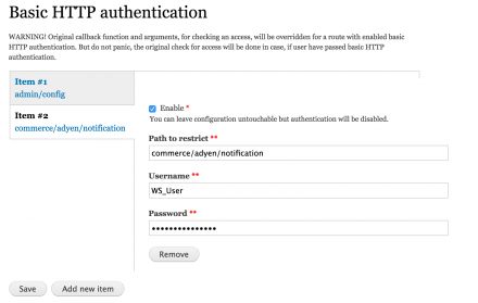 Basic HTTP Authentication | Drupal org