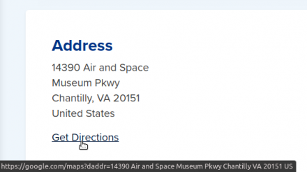 Address Map Link Example