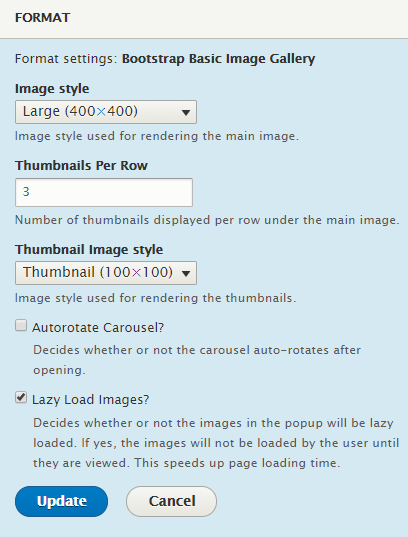 Bootstrap Basic Image Gallery | Drupal org