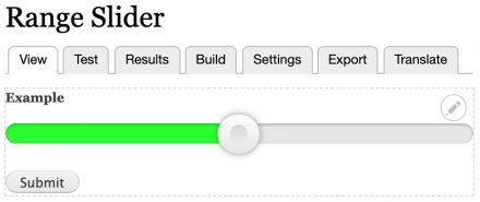 Range Slider   Drupal org