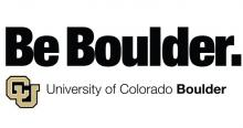 Be Boulder. University of Colorado Boulder