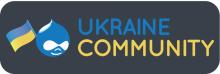 Логотип Drupal Ukraine Community