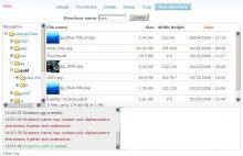 IMCE Mkdir Screenshot