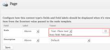 Formatter Settings UI in Rubik theme.