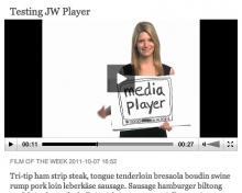 JW Player playback sample