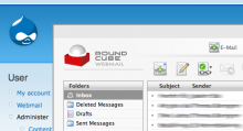 RoundCube Webmail in a Thickbox